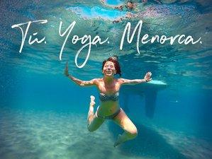 7 días retiro yoga, cuidados y naturaleza en un paraíso Mediterráneo, Menorca