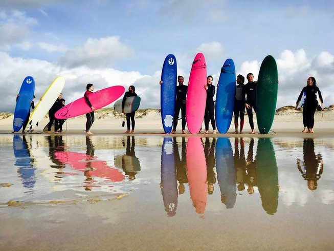 4 Days Surf and Yoga Retreats in Peniche, Portugal