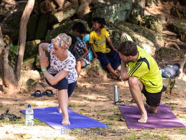 4 días retiro de yoga y arte en Camboya