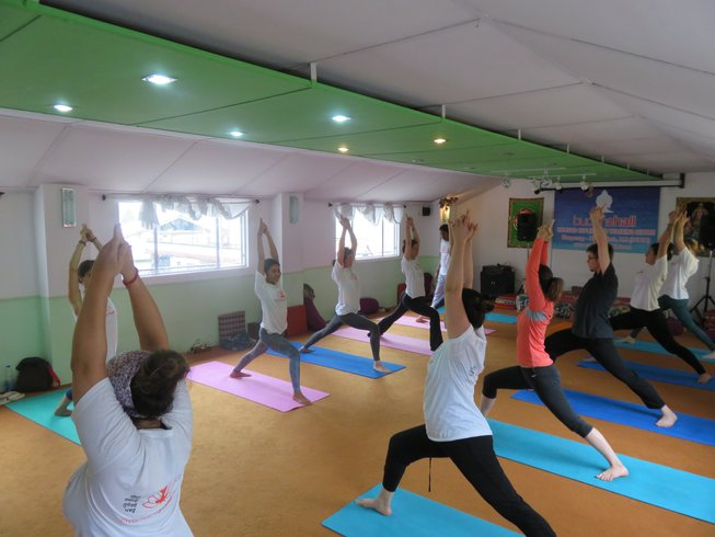 28 Days 200-Hour YTT in Dharamsala