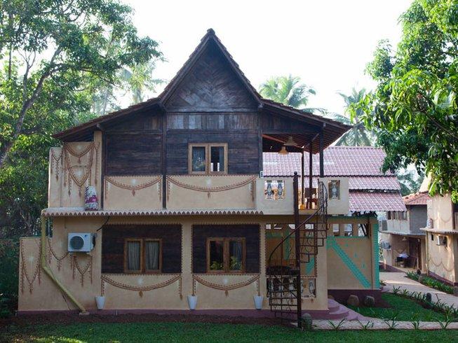 28 Tage 200-Stunden Flow Yogalehrer Ausbildung in Goa, Indien