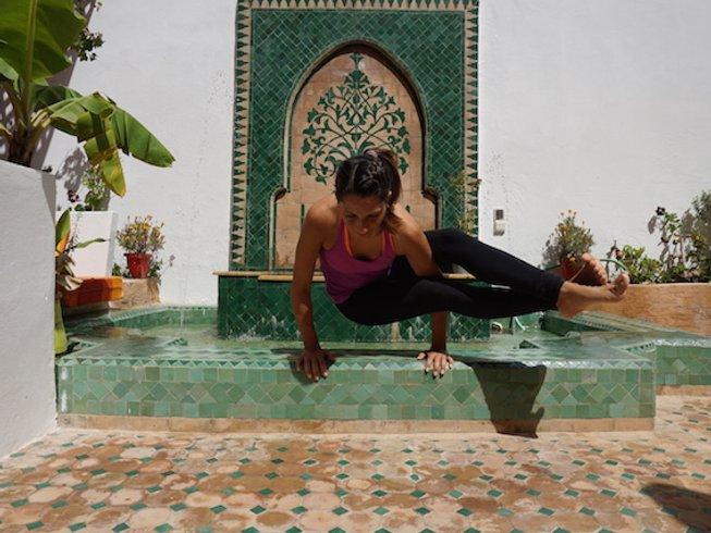 28 Days 200hr Vinyasa & Ayurveda Yoga Teacher Training Morocco