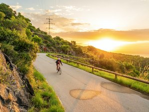 Yoga und Radfahren
