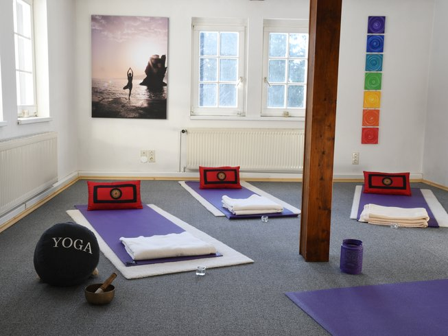 7 jours en stage de yoga anusara et yin yoga à Hermsdorf, Allemagne