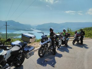 6 Day Fly and Ride Adriatic Coast and Northern Islands Motorcycle Tour in Croatia