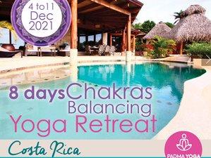 8 Day Chakras Balancing Yoga Retreat in Guanacaste