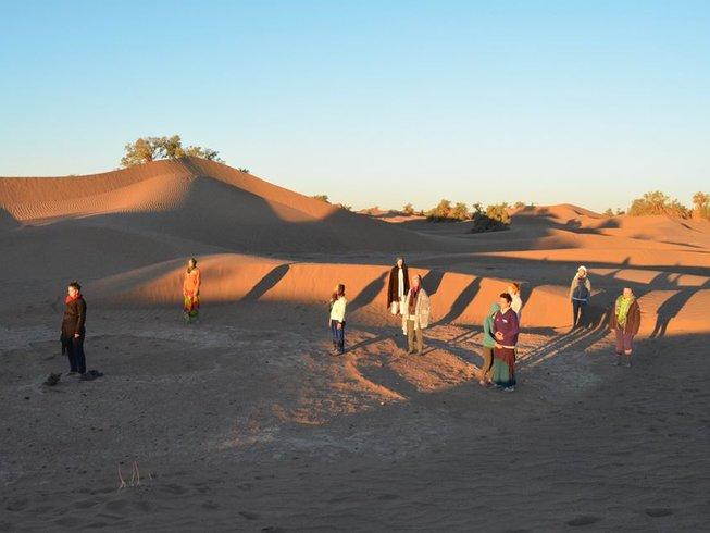 11 Tage Marokko Yoga Urlaub in der Sahara