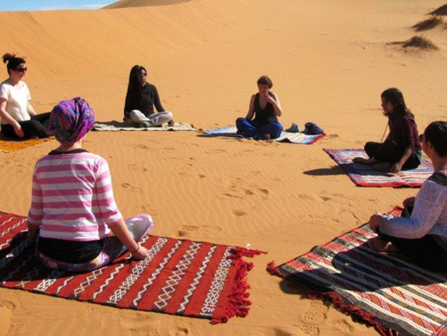 4 días de tour marroquí, meditación y retiro de yoga en Marruecos