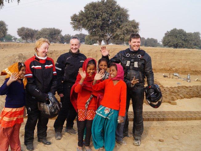 14 Days Guided Motorbike Tour Rajasthan, India