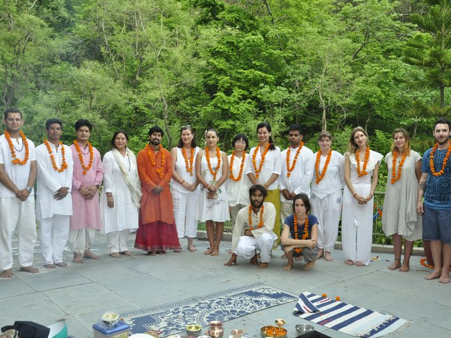 26 Days 200-Hour Hatha Yoga Teacher Training in India