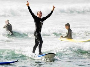 7 Days Invigorating Surf and Yoga Retreat in Lisbon Region, Portugal