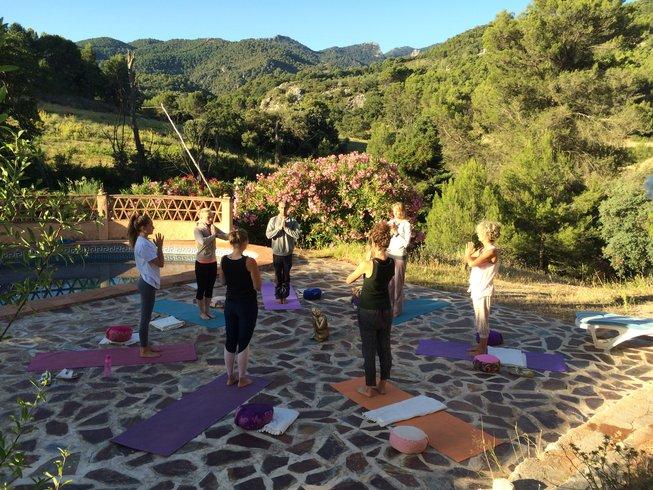 7 jours de retraite de yoga et de méditation en Espagne