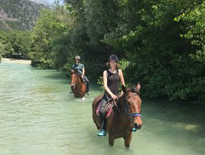 8 Day Magical Horse Riding Holiday with Breathtaking Scenery in Glyki, Thesprotia