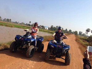 2 Days Guided Village Quad Bike Trails in Phnom Penh, Cambodia