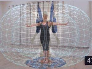 Self-Paced 12-Hour Virtual 'Quantum Play' Aerial Yoga Course