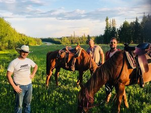 3 Day Back Country Horseback Riding Vacation in Prince Albert National Park, Saskatchewan