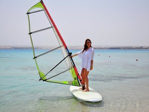 7 Day Beginners Windsurfing Camp in the Beautiful and Sunny Location, Hurghada, Red Sea