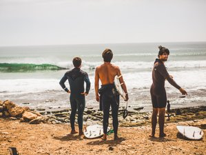 8 Days Surfari Camp in Anza or in Taghazout, Morocco