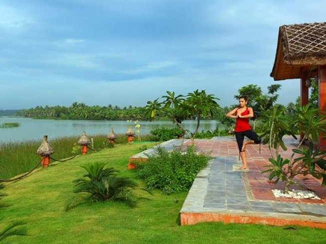 8 Days Kerala Yoga Retreat at Fragrant Nature Backwater Resort