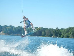 14 Days Wonderful Wakeboarding, Waterskiing, and Wakesurfing Camp in Ontario, Canada