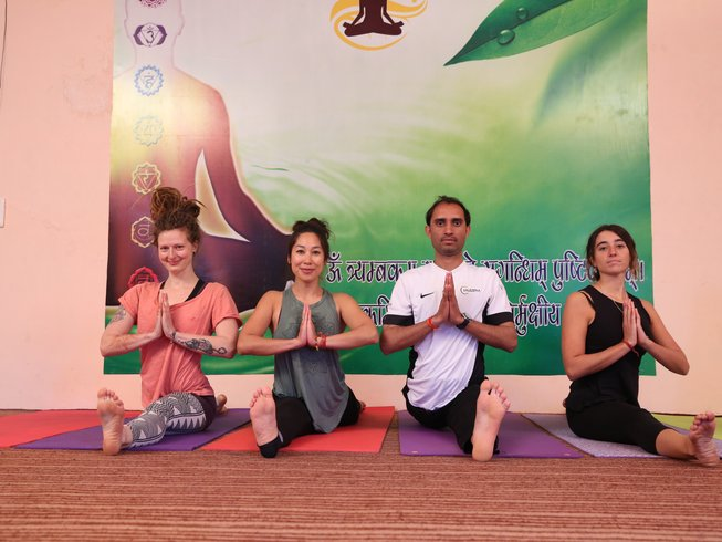 28 Days 200-hrs Ayurveda Yoga Teacher Training Course in Rishikesh, India