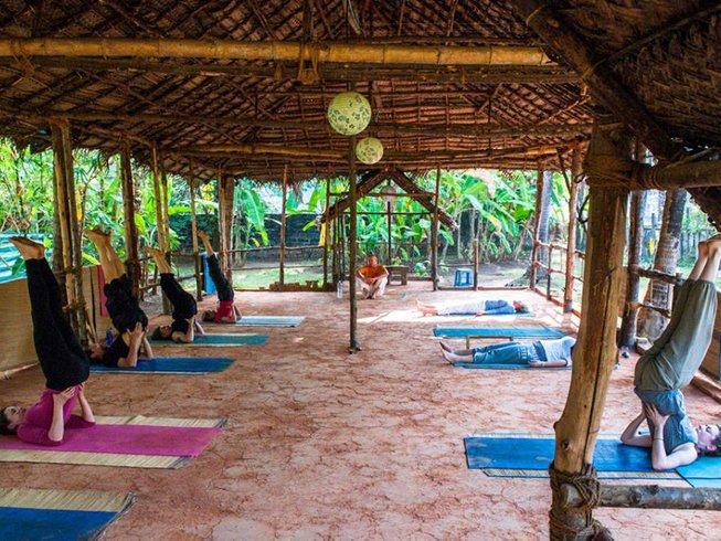 7 Days Meditation and Yoga Retreat in Varkala