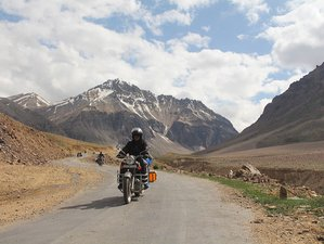 12 Day Manali Ladakh Trans Himalayan Guided Motorbike Tour