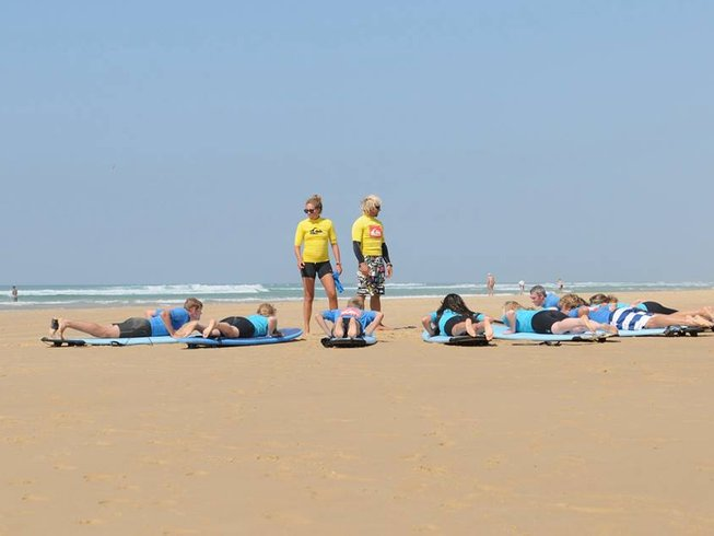 8 Days Adult Surf Camp in France