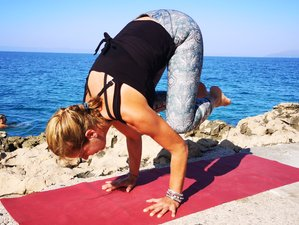 8 Day Arm Balances and Inverse Postures Yoga Holiday for Beginners in Makarska