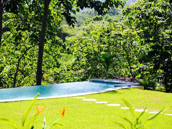 7 Days Surf and Yoga Retreat in Cabuya, Costa Rica