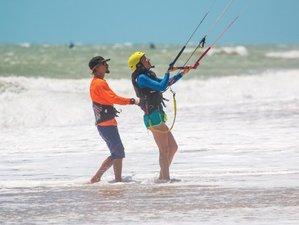 15 Tage Sei ein Einheimischer und Kitesurfen an den Besten Orten in Cumbuco, Ceara
