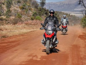 13 Days Gravel Motorcycle Tour in South Africa from Johannesburg to Cape Town via Lesotho