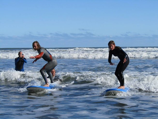 4 Days High-Quality Surf Camp New Zealand