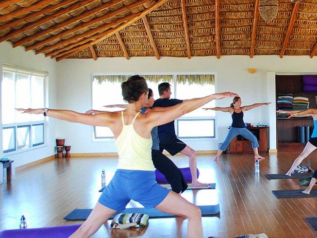 7 jours en retraite de yoga et méditation en Basse Californie du Sud, Mexique