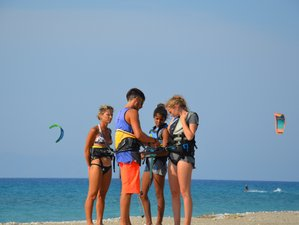 8 Days Beginner Kite Surf Camp Rhodes, Greece
