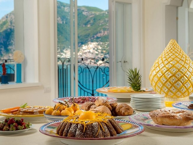 5 Days Tramonto d'Oro Amalfi Coast Cooking Vacations