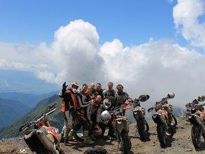 5 Day Guided Enduro Motorcycle Tour Through Savannah And Caucasus Mountains in Eastern Georgia