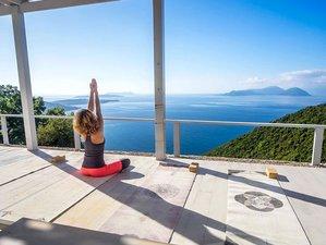 8 Day Great Grecian Getaway Yoga Holiday with Willis Johnston on Lefkada, Ionian Islands