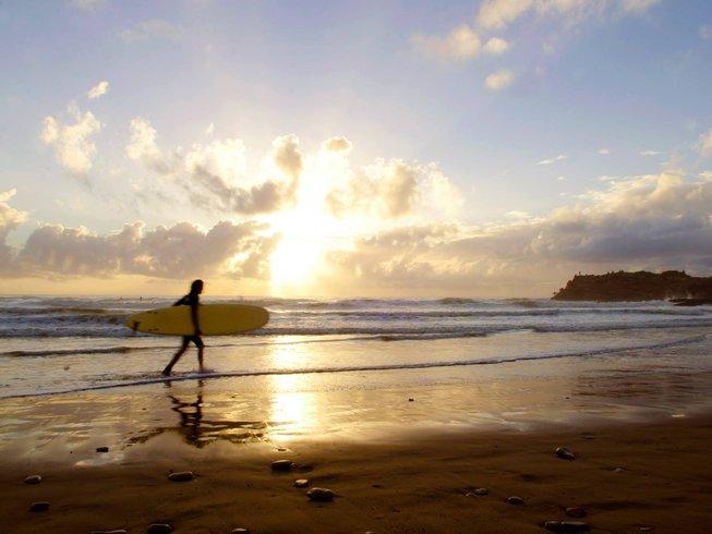 6 Days Fun Yoga and Surf Holiday Tamraght, Morocco