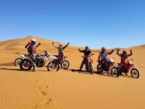 8 Day Ouarzazate Loop Guided Off-Road Motorcycle Tour in Morocco