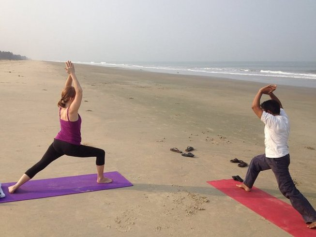 7 Days All-Inclusive Singles Yoga Holiday in South Goa, India