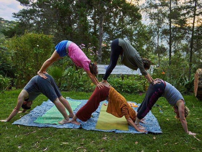 63 Tage 500-Stunden Yogalehrer Ausbildung: Schamanischer Tantra Yoga in Ecuador