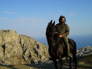 4 Day Nature Exploration and Swimming With Horses Horseback Riding Holiday in Kapetaniana, Crete