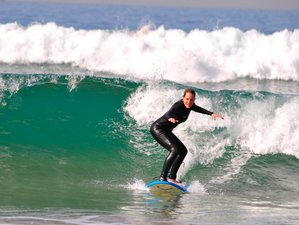 6 Day Beginner and Intermediate Level - Surf Camp in Tamraght, Agadir-Ida Ou Tanane