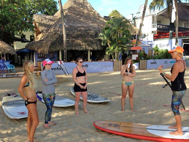 5 jours en stage de yoga, méditation et SUP tous niveaux à Cabarete, République Dominicaine
