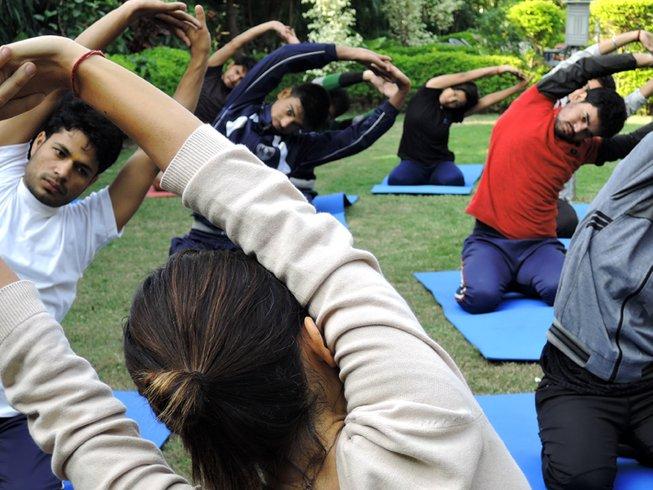 7 Tage Verjüngende Meditation und Yoga Retreat Rishikesh, Indien