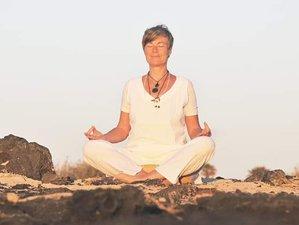 8 Days Vinyasa Yoga and Oneness Awakening Seminar Retreat in Lajares, Fuerteventura