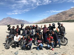 11 Days Manali-Leh-Srinagar Expedition Guided Motorcycle Tour in India