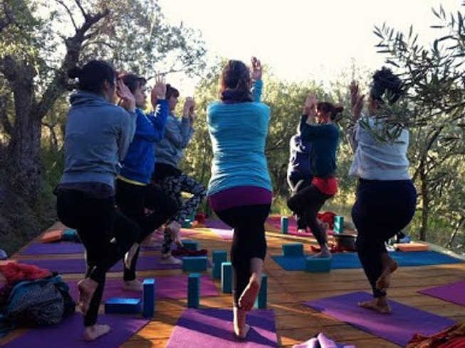 7 Days Nourishing the Wild Yoga Retreat in Spain