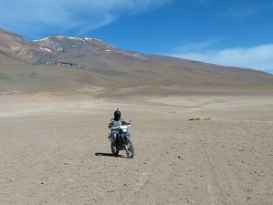 22 Days Mission Impossible Guided Motorcycle Tour in Bolivia with Pre-tour Off-road Training
